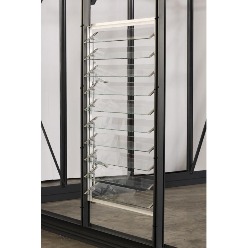 louvre 10 lames en polycarbonate 4mm serres serres. Black Bedroom Furniture Sets. Home Design Ideas