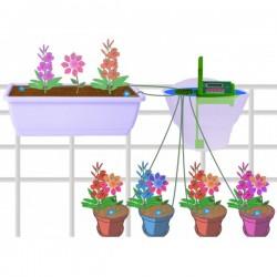 Kit d'irrigation automatique 10 plantes avec pompe et programmateur - Arrosage Vacances ou annuel