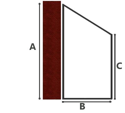 dimensions de la serre adossée